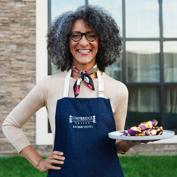 Clickable image to visit Meet Celebrity Chef Carla Hall and enjoy two tickets to a taping of The Chew (Package 1 of 2)