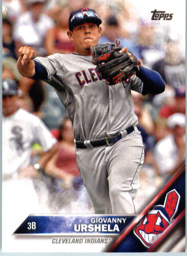 Photo of 2016 Topps #467 Giovanny Urshela