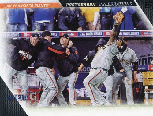 Photo of 2017 Topps Update Postseason Celebration #PC22 San Francisco Giants