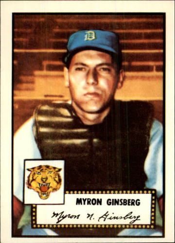 Photo of 1983 Topps 1952 Reprint #192 Myron Ginsberg