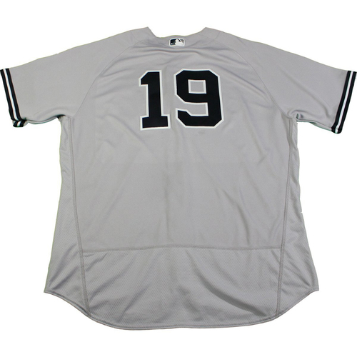 Photo of Masahiro Tanaka New York Yankees Game-Used #19 Grey Jersey (6/28/2017) (Size 52)