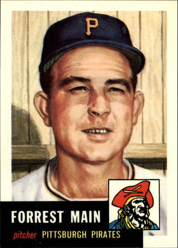 Photo of 1991 Topps Archives 1953 #198 Forrest Main