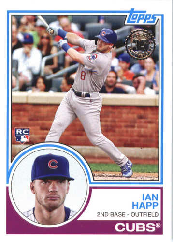 Photo of 2018 Topps '83 Topps #8315 Ian Happ