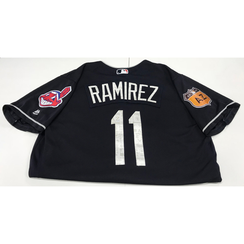 Photo of Jose Ramirez 2017 Spring Training Jersey