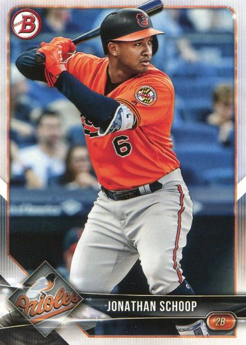 Photo of 2018 Bowman #95 Jonathan Schoop
