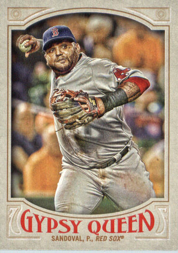 Photo of 2016 Topps Gypsy Queen #264 Pablo Sandoval