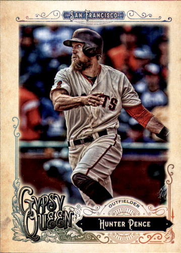 Photo of 2017 Topps Gypsy Queen #209 Hunter Pence