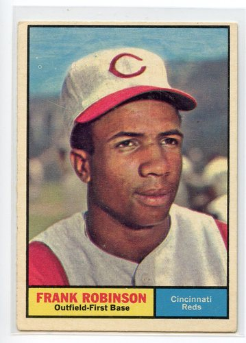 Photo of 1961 Topps #360 Frank Robinson