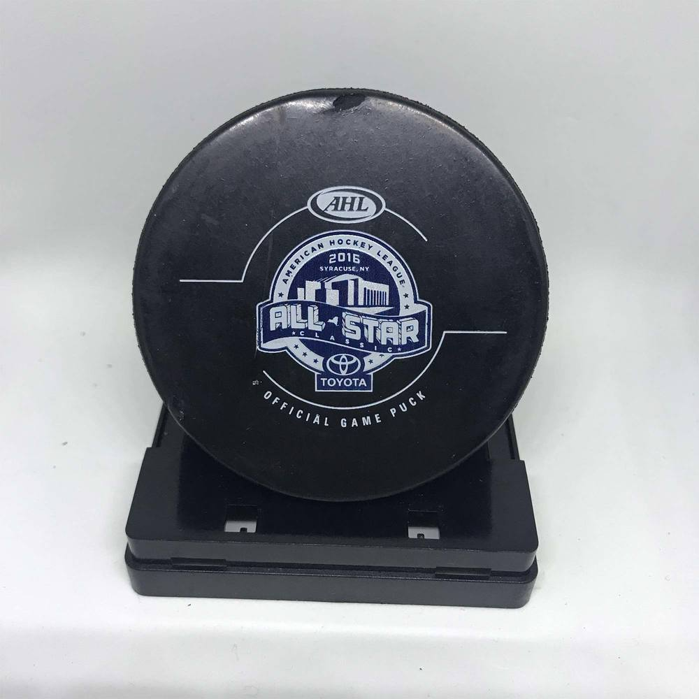 2016 Toyota All Star Classic Central Division Goal Puck - Game 5 Goal 4