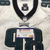 NFL - Eagles Bruce Hector London Games 10.28.18 Game Used Jersey Size 48