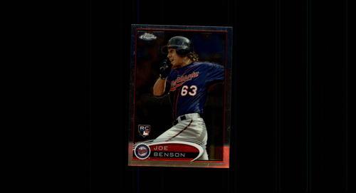 Photo of 2012 Topps Chrome #158 Joe Benson RC