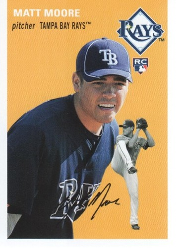 Photo of 2012 Topps Archives #8 Matt Moore RC