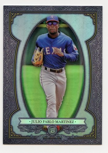 Photo of 2019 Bowman Chrome Bowman Sterling Continuity #BS19 Julio Pablo Martinez