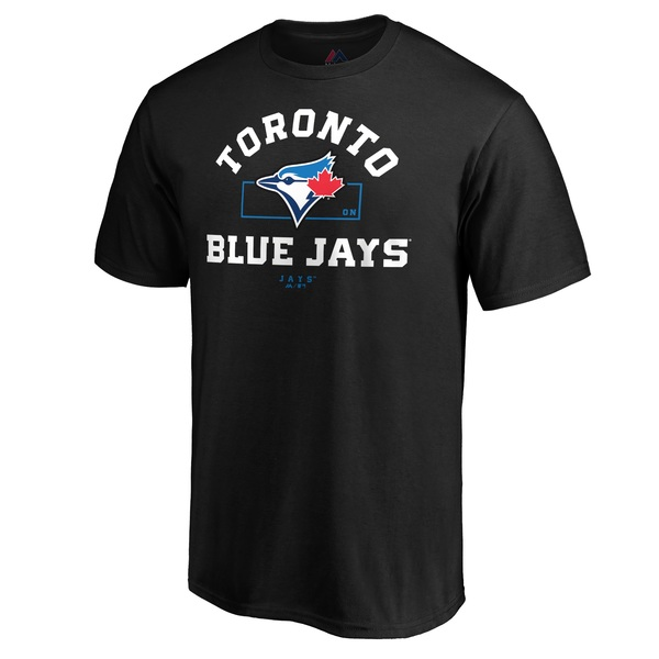 Toronto Blue Jays Primary Objective T-Shirt by Majestic