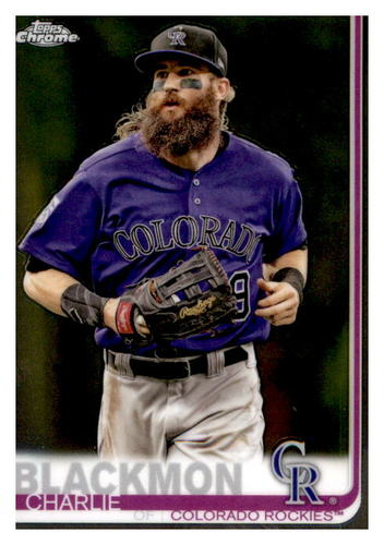 Photo of 2019 Topps Chrome #160 Charlie Blackmon