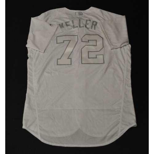 "Photo of Kyle "" KELLER"" Keller Miami Marlins Game-Used 2019 Players' Weekend Jersey"