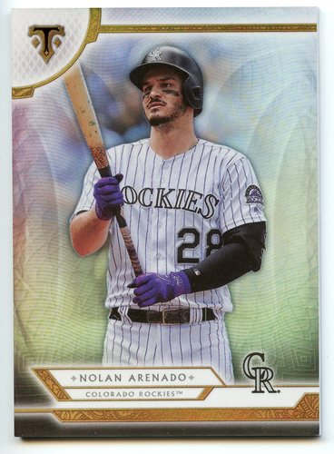 Photo of 2018 Topps Triple Threads #11 Nolan Arenado