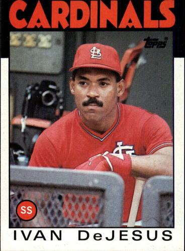 Photo of 1986 Topps #178 Ivan DeJesus