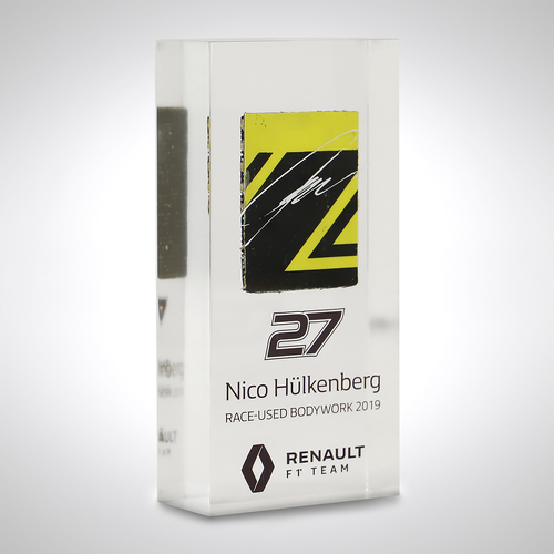 Photo of Nico Hülkenberg 2019 Bodywork In Acrylic - Renault F1 Team