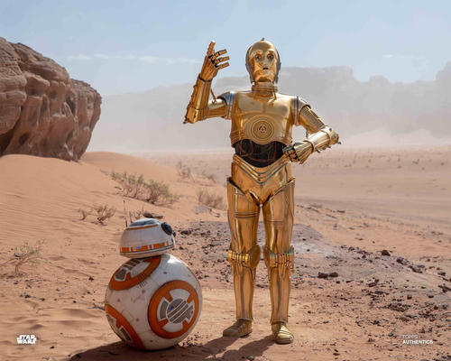 C-3PO and BB-8