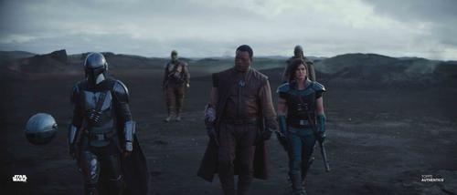 The Mandalorian, Cara Dune and Greef Carga