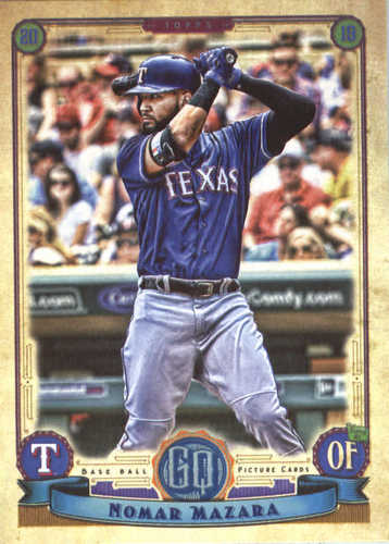 Photo of 2019 Topps Gypsy Queen #269 Nomar Mazara