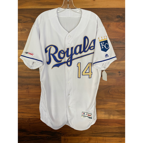 Photo of Game-Used Jersey: Brett Phillips (Size 46 - MIN @ KC - 9/27/19)