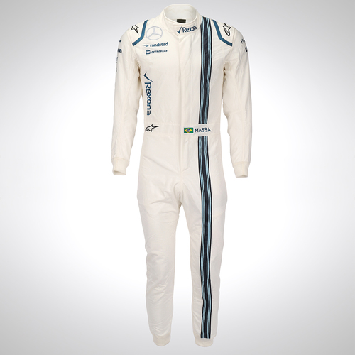 Photo of Felipe Massa 2016 Replica Race Suit - Williams Racing