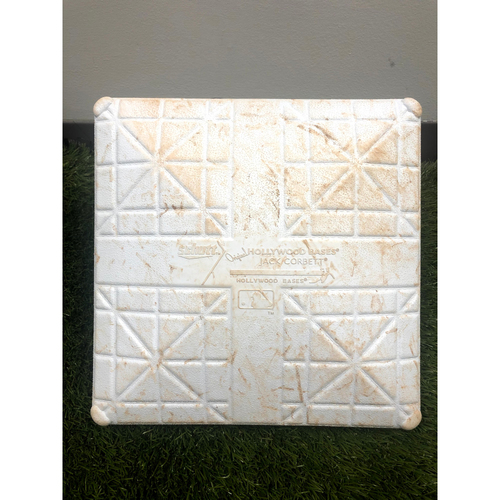 Photo of Game-Used Base - Trea Turner Hits for the Cycle - 6/30/21
