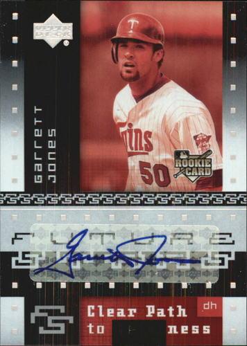 Photo of 2007 Upper Deck Future Stars #150 Garrett Jones AU (RC)