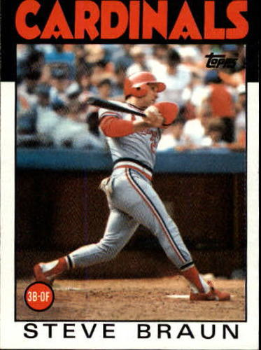 Photo of 1986 Topps #631 Steve Braun