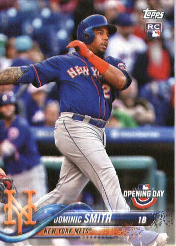 Photo of 2018 Topps Opening Day #119 Dominic Smith