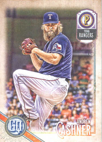 Photo of 2018 Topps Gypsy Queen #5 Andrew Cashner