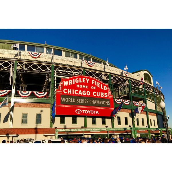 Photo of Joe Maddon's Lafayette Baseball Tour - Chicago Cubs vs. Washington Nationals at Wrigley Field - August 10 at 1:2...