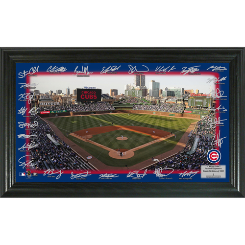 Photo of Serial #1! Chicago Cubs 2018 Signature Field