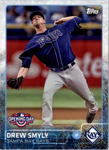 Photo of 2015 Topps Opening Day #136 Drew Smyly