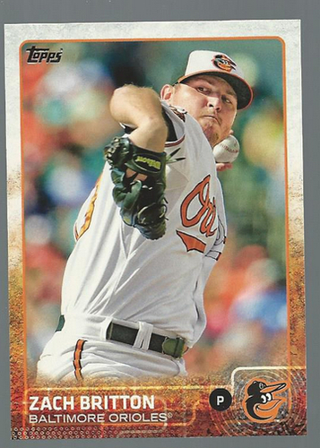 Photo of 2015 Topps #190 Zach Britton