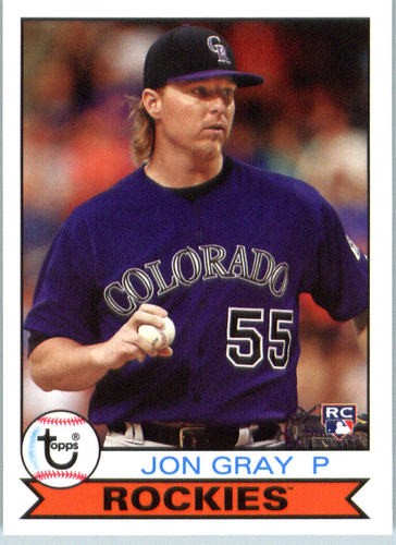 Photo of 2016 Topps Archives #154 Jon Gray RC