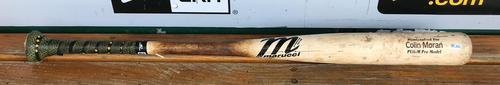Photo of Francisco Cervelli Game-Used Colin Moran Model Broken Bat