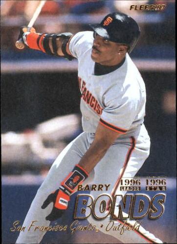 Photo of 1997 Fleer #477 Barry Bonds