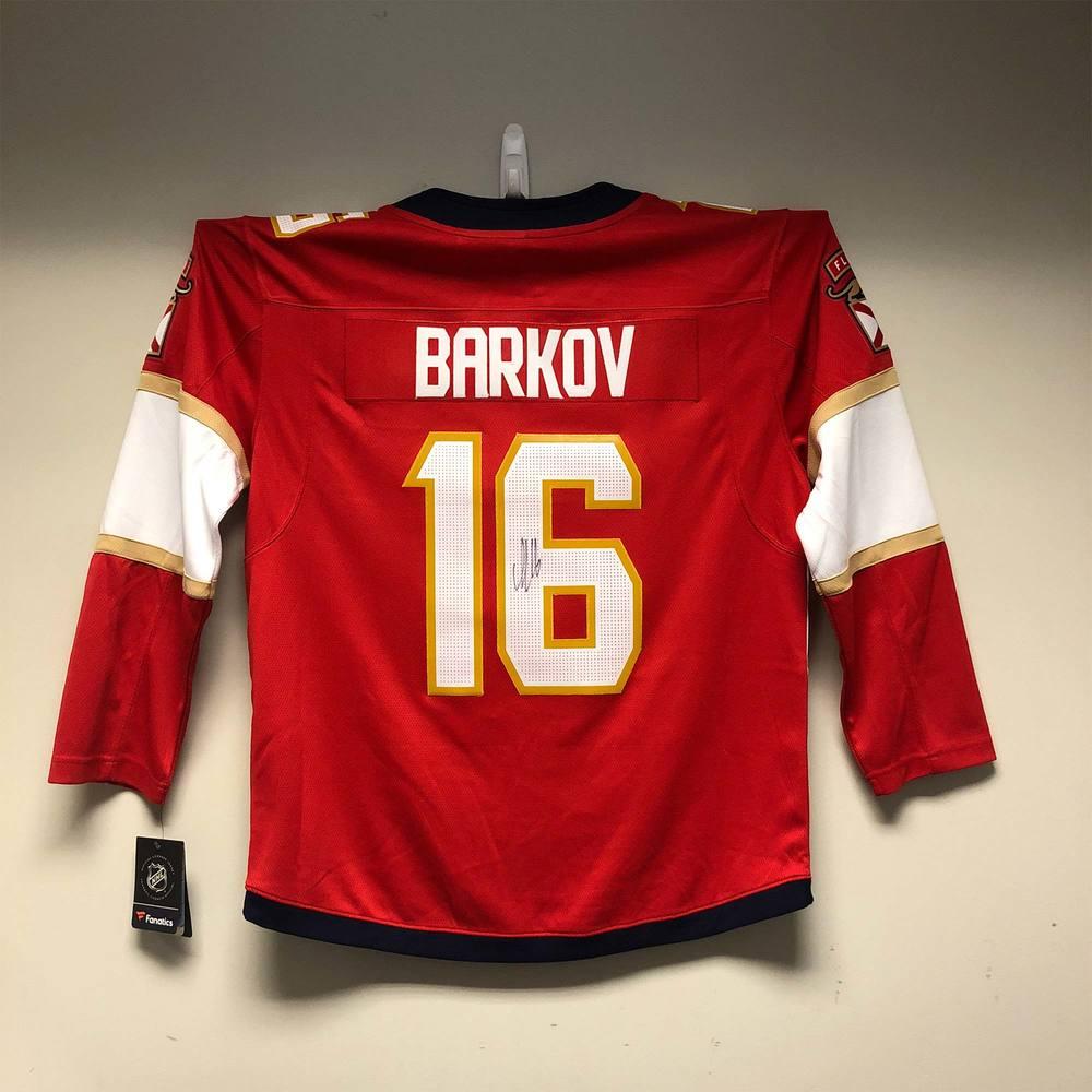 Florida Panthers Fanatics Jersey Signed by #16 Aleksander Barkov