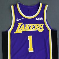 Kentavious Caldwell-Pope - Los Angeles Lakers - Game-Worn Statement Edition Jersey - 2018-19 Season