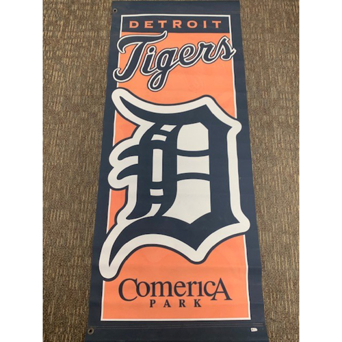 Photo of Comerica Park Banner