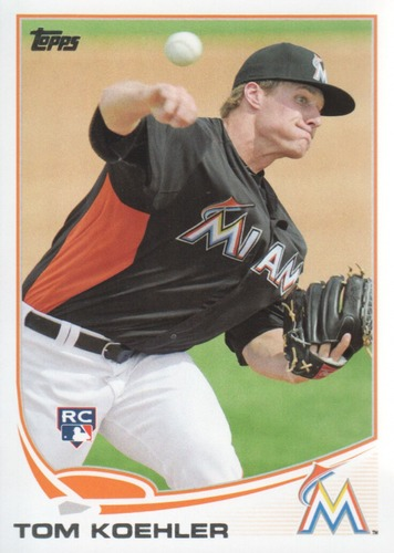 Photo of 2013 Topps #392 Tom Koehler RC