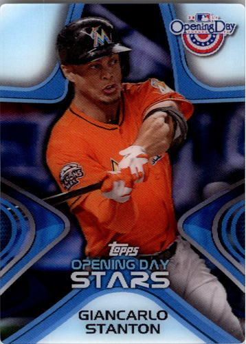 Photo of 2014 Topps Opening Day Stars #ODS23 Giancarlo Stanton