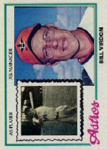 Photo of 1978 Topps #279 Bill Virdon MG