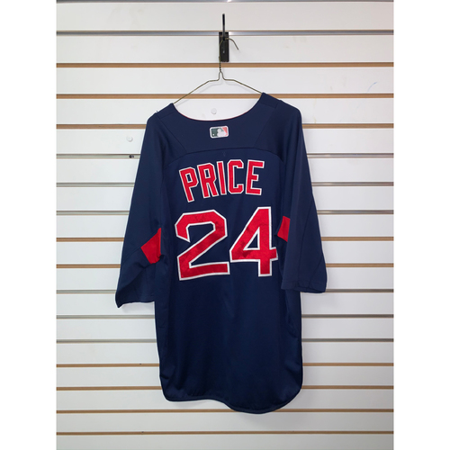 David Price Team Issued Road Batting Practice Jersey