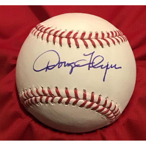 Photo of Doug Flynn Autographed Baseball