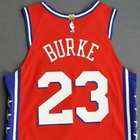 Trey Burke - Philadelphia 76ers - Game-Worn Statement Edition Jersey - 2019-20 Season