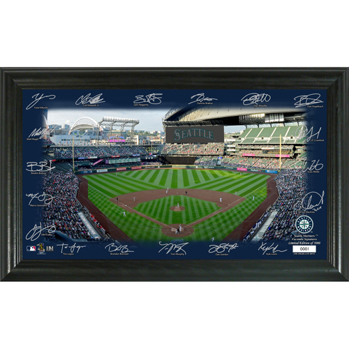 Photo of Seattle Mariners 2020 Signature Field Limited Edition Frame
